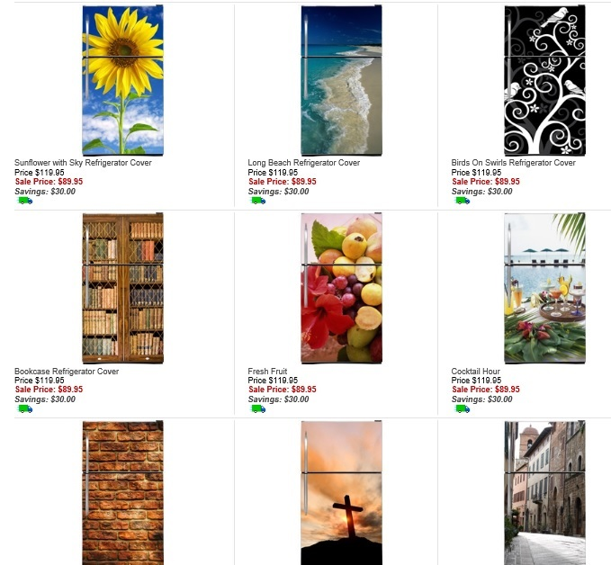 Click Here to visit FridgeFronts.com and see this dizzying selection ...